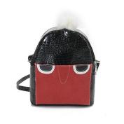Anshinto Women Cute Pattern Small Shoulder Bag Cross Body Bag Versatile Hairball Messenger Bags