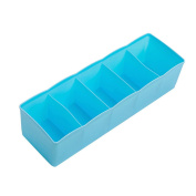 Gemini_mall® Drawer Organiser Drawer Dividers Plastic Drawer Tidy Tie Bra Socks Storage Box