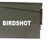 FGD Birdshot Ammo Box Decal Sticker Label Set Two 17cm x 3.8cm One 8.9cm x 1.9cm