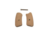 Triceratops Customs Unfinished Maple Ruger SP 101 Grip Inserts