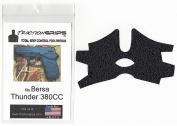 Black Tractiongrips grip tape overlay for Bersa Thunder 380CC