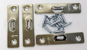 Small 2 Hole Super Steel Picture Hanger (20 Pack) With Screws