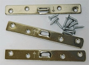 Large 4 Hole Super Steel Picture Hanger (10 Pack) With Screws