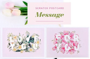 Lago Message Scratch Postcard (Set of 2) - Love You & For You
