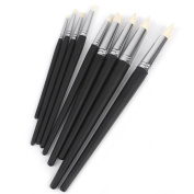 ULTNICE Soft Clay Colour Shaper Paint Brushes Sculpting Painting Tools Black 9 Pieces