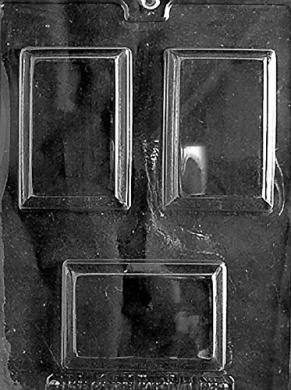 M192 Rectangular Soap Bar Chocolate/Soap Mould