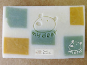 SoapRepublic My Dear ~ Acrylic Soap Stamp / Cookie stamp