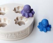 SoapRepublic Mini Octopus / 4 in 1 / Silicone Soap Mould