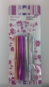 Hot Craft Hobby Hot Foil Paper - 80 x 500mm, 8 pieces