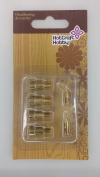 Hot Craft Hobby Wood & Leather Drawing Tip Set C - 6 pieces