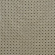 "Polka Dot White Athena Gold 140cm "" width Print [Drapery Fabric, Curtain Fabric, Upholstery Fabric and Table Linen Fabric by the YARD on best price]"