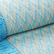 Efavormart Premium Raffia Picnic Party Upholstery Fabric Bolt - TURQUOISE - 140cm x 4 Yards