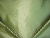 140RT9 - Shimmering Metallic Citron / Citrus Green Faux Silk Designer Upholstery Drapery Fabric - By the Yard