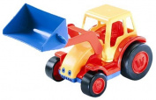 Polesie Polesie9579 Basics Tractor with Shovel and Trailer Toy