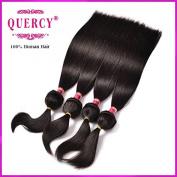 Quercy Hair Braid in Bundles 18 18 46cm 9A Brazilian Straight 3 Bundles 110g/Piece Unprocessed Brazilian Virgin Hair No Glue No Thread No Clips Braid in Remy Human Hair Extensions
