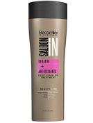 Recamier SalonIn Keratin Deep Leave On Treatment+ ANTIOXIDANTS   Crema de peinar para el cabello sin enjuague 17.6oz-500ml