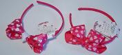 Valentine Hearts Headband Set