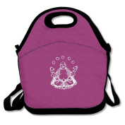 Laughing Buddha Funny Lunch Bag Adjustable Strap