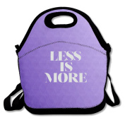 Less Is More Lunch Bag Adjustable Strap