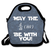 May The Force Be With You Equation Lunch Bag Adjustable Strap