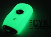 Key Cover Silicone Glow Finest Opel D K J GTC Folia Insignia B Adam Astra Corsa E Case