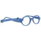 Miraflex Baby Lux2 Kids Eye Glass Frames | 40/14 Dark Blue | Age:5-7