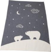 Fussenegger blanket grey size 100x130 cm