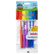 Super Value Pack 5ct BPA Free Kids Toothbrushes Step 3 for Ages 5-12 Years