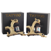 2 Pure CopperTattoo Machine Gun As Liner and Shader in Boxes