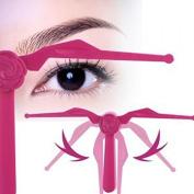 . Eyebrow Shaper Tool Ruler Eyebrow Shaper Brow Tracer Adjuster Beauty Eyes