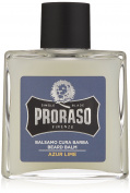 Proraso Single Blade Beard Balm, Azur Lime, 100ml