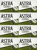 Astra Superior Platinum Double Edge Safety Razor Blades, 40 blades