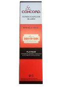 Concord Double Edge Safety Razor Blades, 100 blades