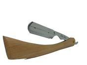Wooden Stay Sharp Razor Straight Edge Cutthroat Brand