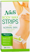 Nads Large Body Wax Strip Size 24ct Nads Large Body Wax Hair Removal Strips 24ct