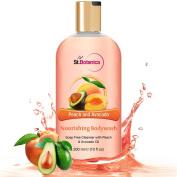 St.Botanica Peach and Avocado Nourishing Luxury Body Wash - Peach & Avocado Oils Body Wash - 300 ml