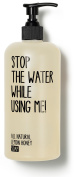 Stop The Water While Using Me! - All Natural Lemon Honey Hand + Body Soap