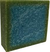 Cool Spring Scent Sea Salt Scrub Handmade Natural Soap Bar - Shampoo, Shaving, Bath, Hand Soap - All in One Soap 150ml