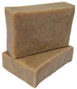 ATTIS Moringa Handmade Natural Soap (1pc) | Vegan | with Shea Butter, Grapefruit essential oil and Moringa powder