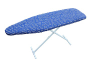 Classic Heavy Use Ironing Board Cover with Pad-Letter Blue
