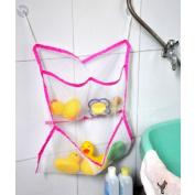 Techinal Bathroom Mesh Net Storage Bag Baby Bath Bathtub Toy Mesh Net Storage Bag Organiser Holder For Home