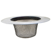 3PCS Stainless-Steel Kitchen Sink Strainer - Large Wide Rim 11cm Diameter--Perfect for Kitchen Sinks