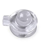Shraddha Shree Gems Natural Quartz Crystal / Sphatik Shiva Lingam / Shivling 18 to 20 gm. approx