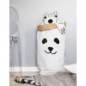 Powkoo Kids Toys Clothes Eco-friendly Kraft Paper Organise Bag Household Storage Bags