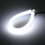 Northbear 45cm 12V Car Tube LED Strip Flexible DRL Daytime Running Light Decor
