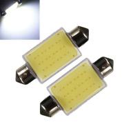 Northbear Bright White COB LED 41mm Festoon 211-2 578 212-2 Bulb Car Interior Dome Map Light Lamp