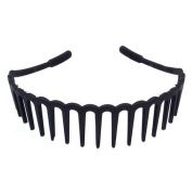 Special Boys and Girls Wave Antislip Hairband Teeth Hair Hoop Head Buckle, 13 Long Teeth Section