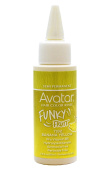 Avatar Funky Fruit Semi-permanent Hair Colour Rinse 80ml Banana Yellow