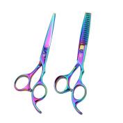 SMITH CHU 15cm Professional Hair Thinning Scissors Hairdressing Scissor Barber Hair Cutting Shears for Hairdresser