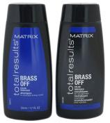 Matrix Total Results Brass Off TRAVEL SET